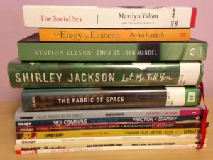 Readathon Oct 2015 Reading Stack